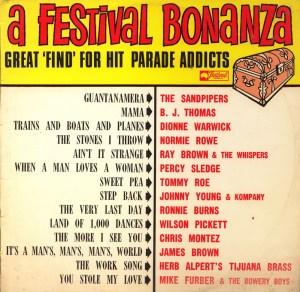 Festival - Festival Bonanza - FL32058 - Front cover