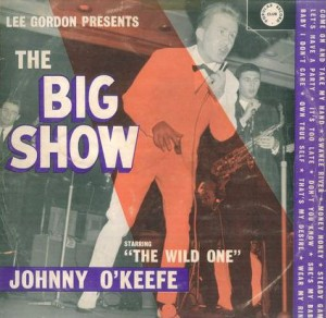 Festival - LL30543 - Big Show with Johnny O'keefe - front cover