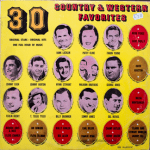Majestic - 30 Country & Western Favorites - CW500 - Front cover