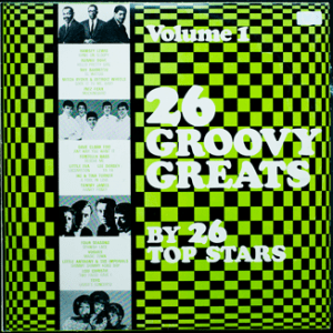 Majestic - Groovy Greats - GG1 - Front cover