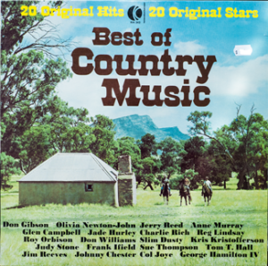 Ktel - Best of Country Music - WA343 - Front cover
