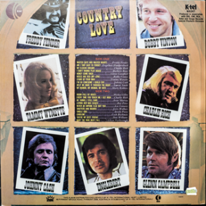 Ktel - Country Lover - WA347 Back cover