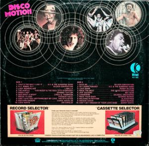 Ktel - Disco Motion - NA485 - Back cover