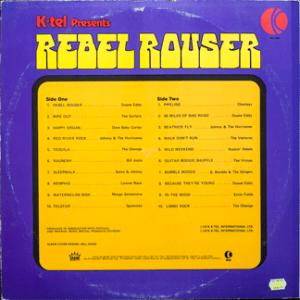 Ktel - Rebel Rouser - NA494 - Back cover