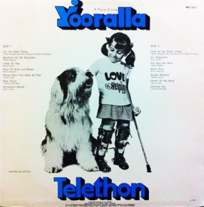 RCA - Telethon 75 - Front cover