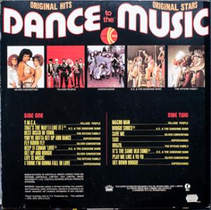 Ktel - Dance Music - NA532 - Back cover