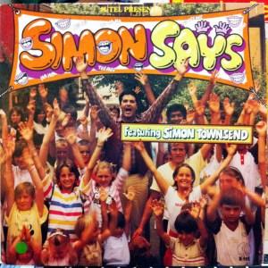 K-tel - NA663 - Simon Says - Simon Townsend - Front cover - MX208691