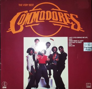 K-tel - NA665 -Commodores - Front cover