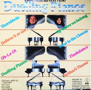K-tel - NA649 - Duelling Pianos - Thommy Tycho - Front Cover