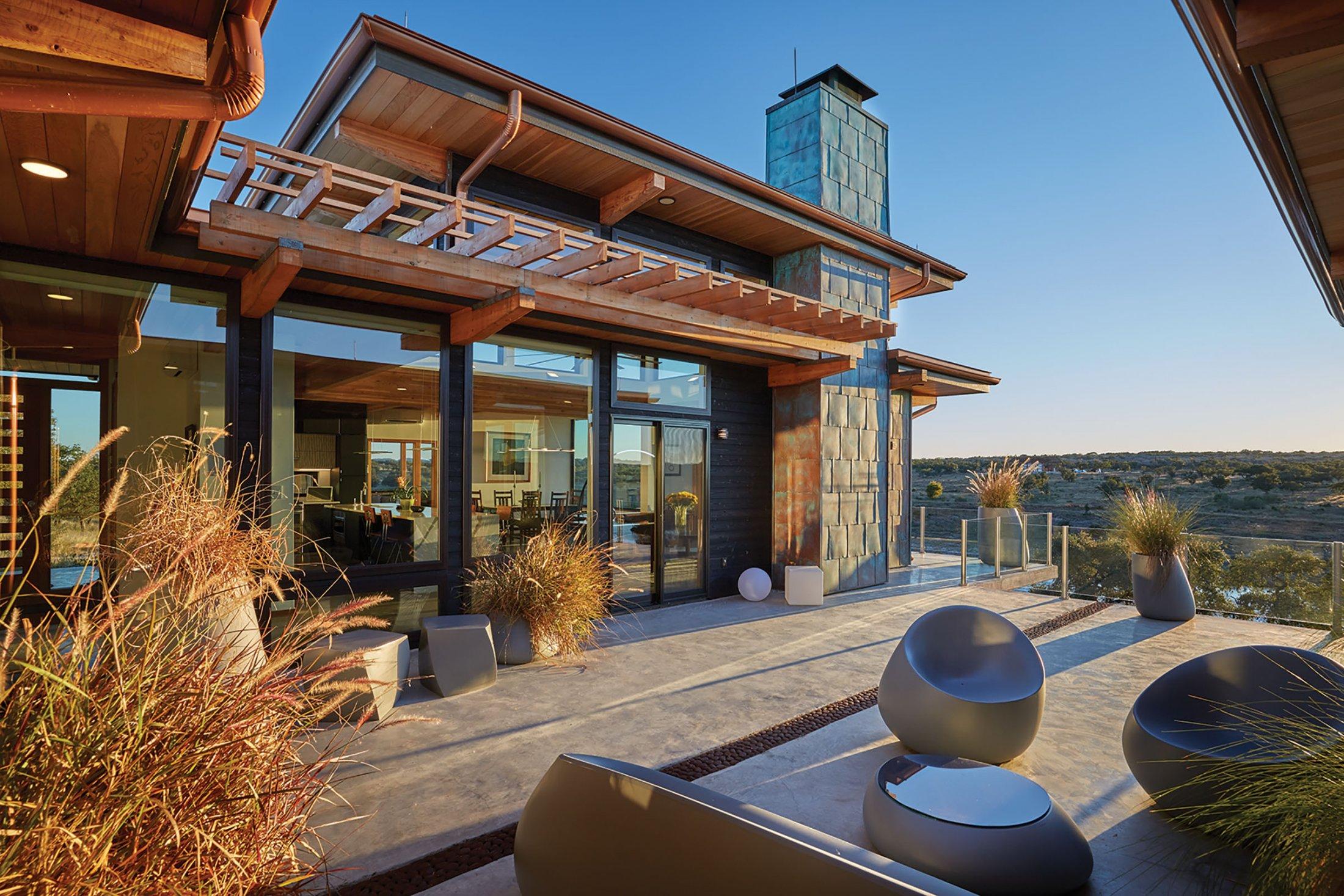 Austin, TX - Executive - Outdoor Back Patio Living Area ... on Executive Outdoor Living id=98603