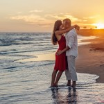 Vakantie huwelijksaanzoek