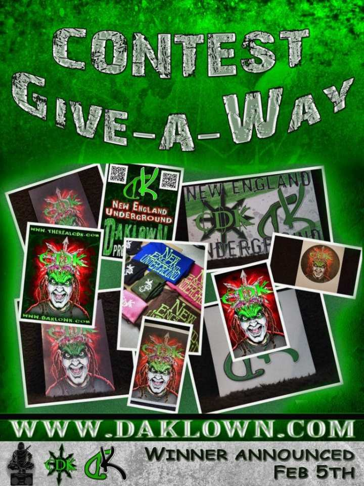 Daklown Productions & The Real CDK Present CONTEST GIVE-A-WAY – ROUND 1