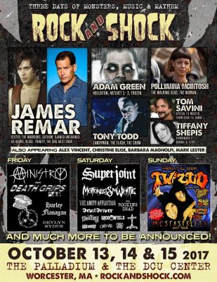 Tickets Now Available For Rock and Shock