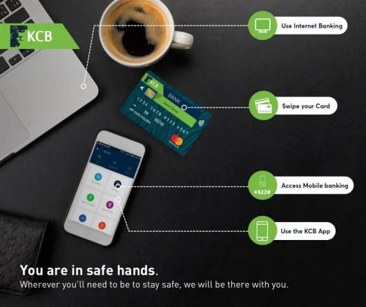 KCB bank branch codes