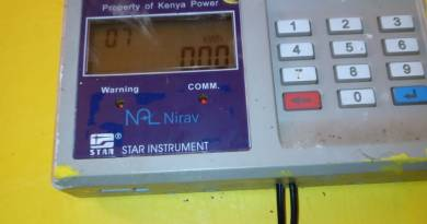 How to stop beeping sound on pre paid meters