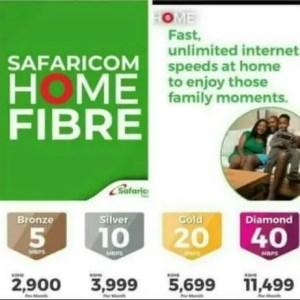 Safaricom home fiber