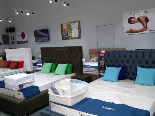 Dr Mattress Showrooms, Branches locations and Contacts in Kenya