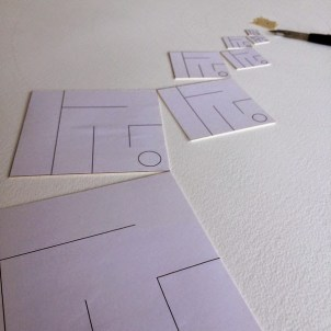 Using templates to sort out the full scale.