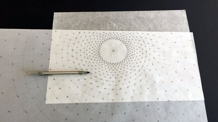 Transferring with carbon paper