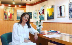 María José Cano | Expresionismo abstracto exposición wabi sabi en Granada