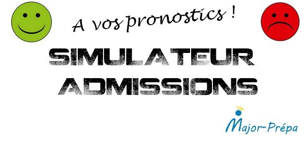 Simulateur d'admissions