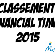 Classement FT 2015 des Master in Management : la France au top !