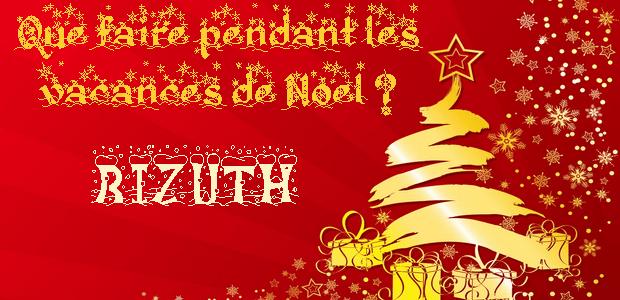Que faire pendant les vacances de Noël ? – Version bizuth