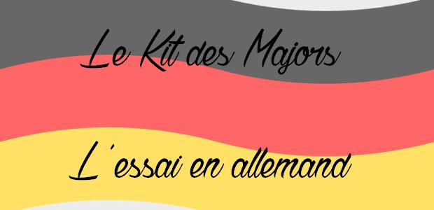 Méthode des majors : comment réussir l'essai d'allemand ?