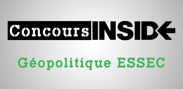Géopo ESSEC 2017 – Analyse du sujet