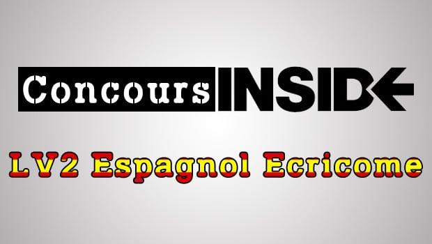 LV2 Espagnol Ecricome 2017 – Sujet