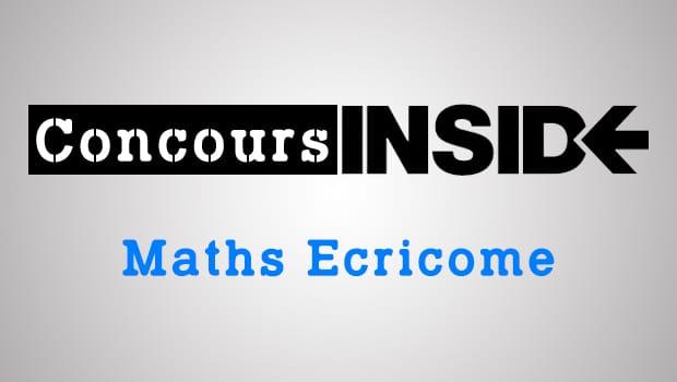 Corrigé de l'épreuve de maths Ecricome 2017 ECS