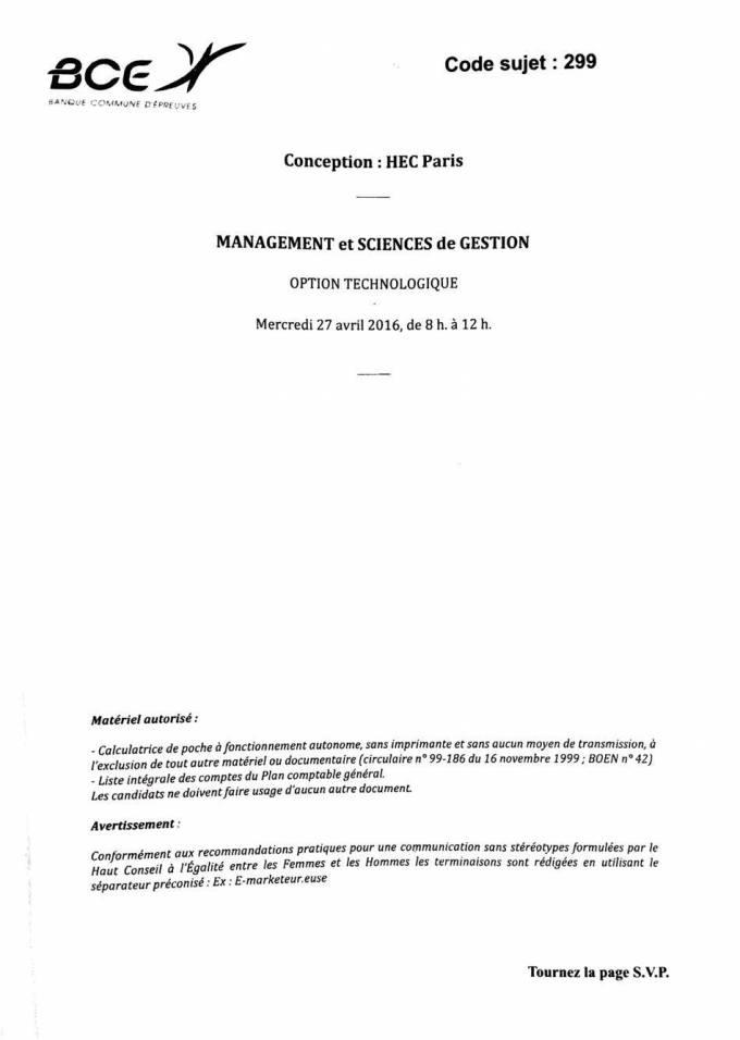 Management-Gestion HEC - 1