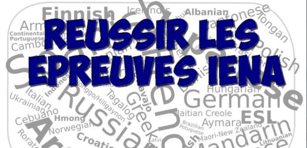 Réussir les épreuves de langues IENA 2016