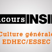 Culture générale EDHEC-ESSEC 2017 – Sujet