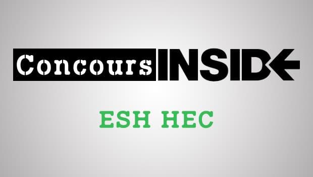 ESH HEC 2017 – Sujet