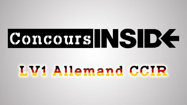 LV1 Allemand CCIR 2016 – Analyse du sujet