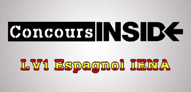 LV1 Espagnol IENA 2018 – Analyse du sujet