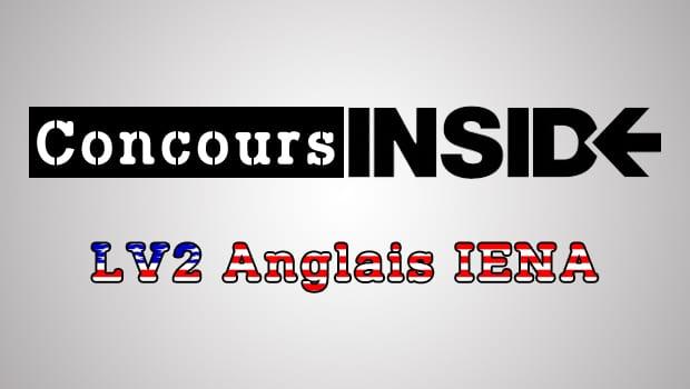 LV2 Anglais IENA 2016 – Sujet