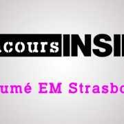 Résumé EM Strasbourg 2016 – Sujet