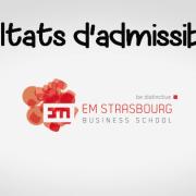 Résultats d'admissibilités EM Strasbourg 2017