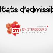 Résultats d'admissibilités EM Strasbourg 2019