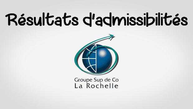 Résultats admissibilités ESC La Rochelle 2016