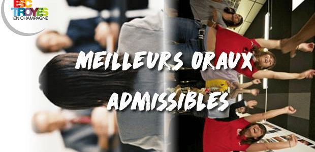 Vote ESC Troyes – Concours des meilleurs oraux admissibles 2017