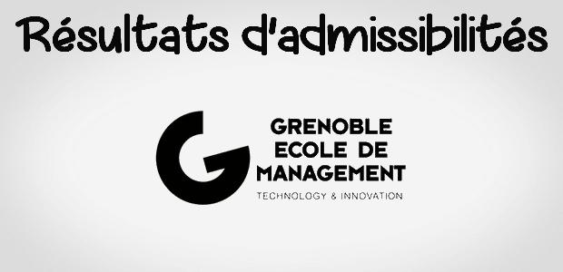 Grenoble EM publie ses rangs d'admissibilité !