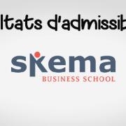 Résultats d'admissibilités SKEMA 2018