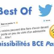 Best of Twitter, réaction des candidats BCE 2016 (2)