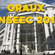 Oraux INSEEC 2016 – Mode d'emploi
