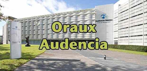 Oraux Audencia 2016 – Mode d'emploi