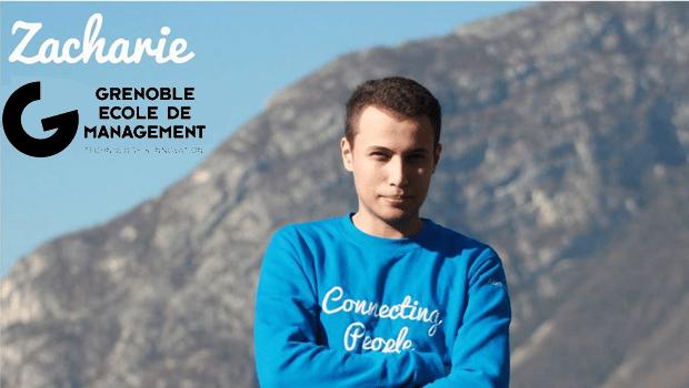 Interview de Zacharie, étudiant à GEM