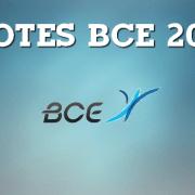 Vos notes BCE 2016 sont en ligne !
